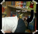 ElmoCheckingOutSister