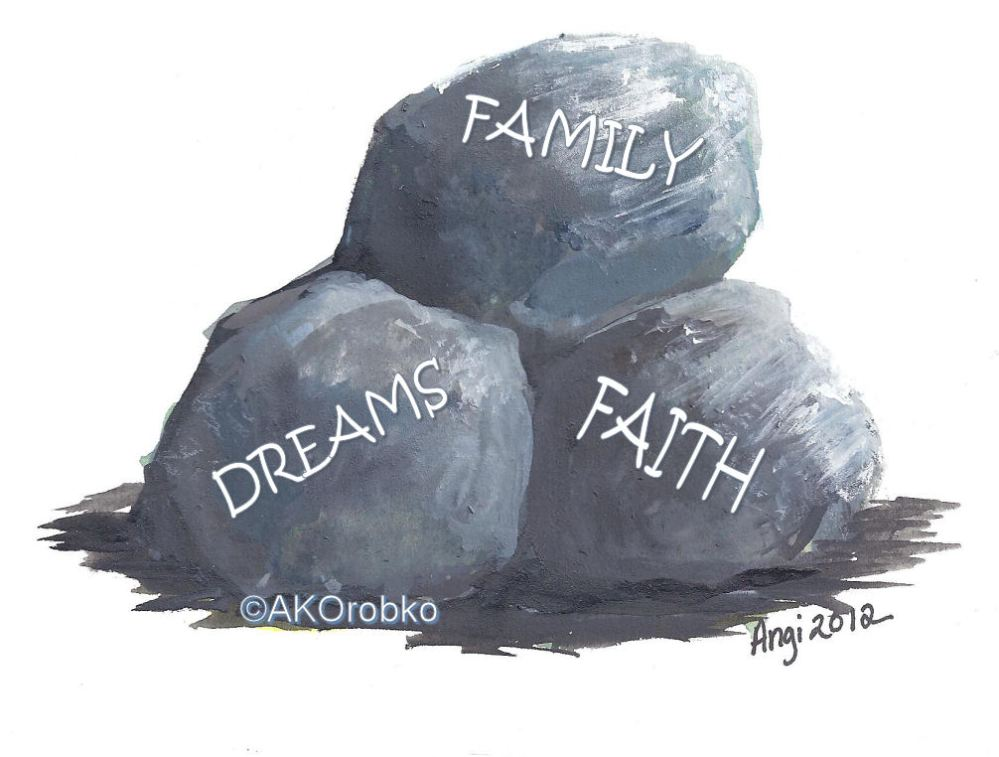 What are the Big Rocks in Your Life?