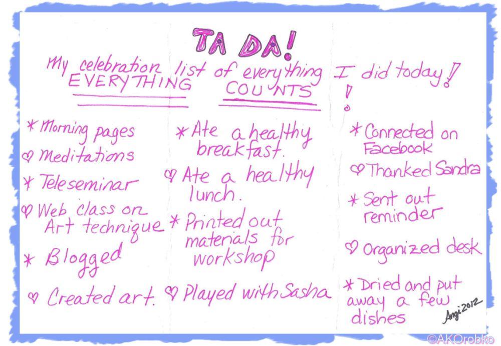 To Do or Ta-Da? (3/3)